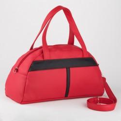 Женская спортивная сумка с полоской