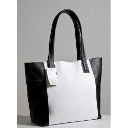 """Женская сумка из натуральной кожи """"Лодочка"""""""