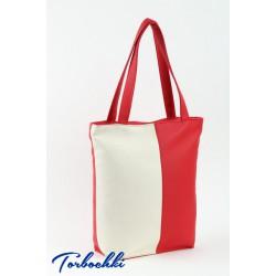 Женская сумка комбинированных цветов