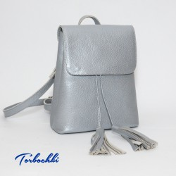 Женский рюкзак-сумка из натуральной кожи 2в1