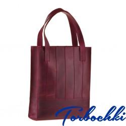 Женская сумка шоппер из натуральной кожи
