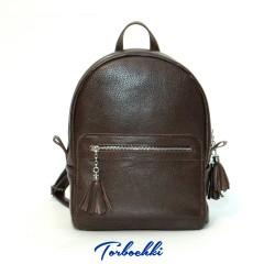 Стильный городской рюкзак из натуральной кожи