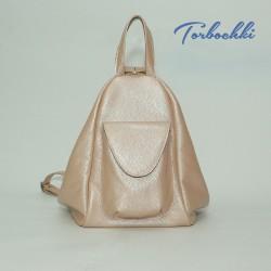 Женский рюкзак - сумка из натуральной кожи