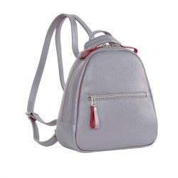 Городской молодежный рюкзак из натуральной кожи