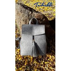 Молодежный рюкзак-трансформер 2 в 1 из войлока